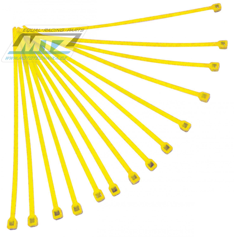 Pásky stahov.20ks 4,8x280 žlut