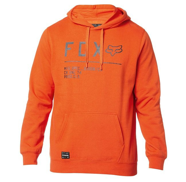 Mikina FOX Non Stop Pullover Fleece Atomic Orange - velikost XL