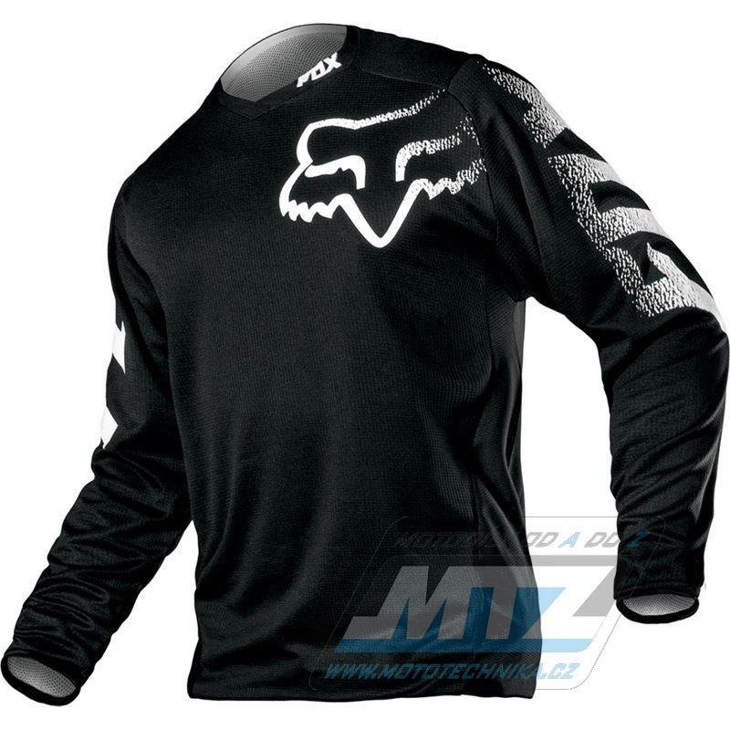 Dres FOX Blackout Jersey - černý - velikost XXL