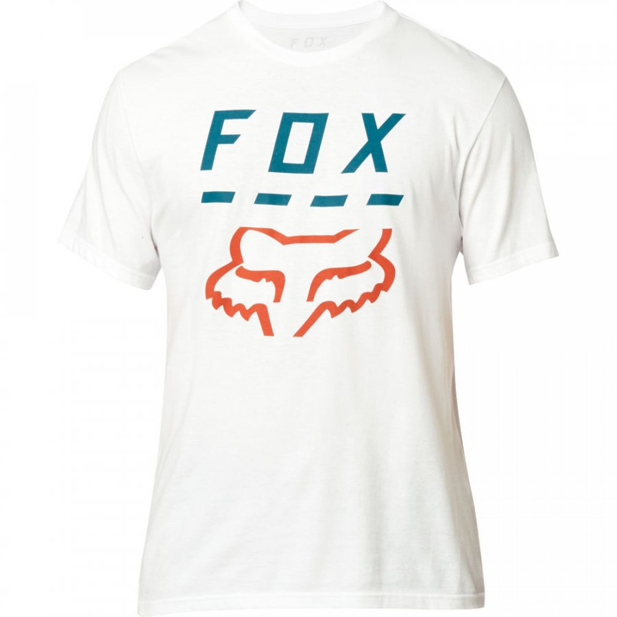 Tričko FOX Highway Tee Optic White - velikost XXL