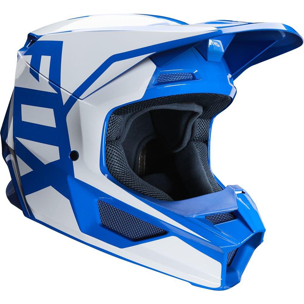 Přilba FOX V1 Prix Helmet MX20 - modrá (velikost SX)