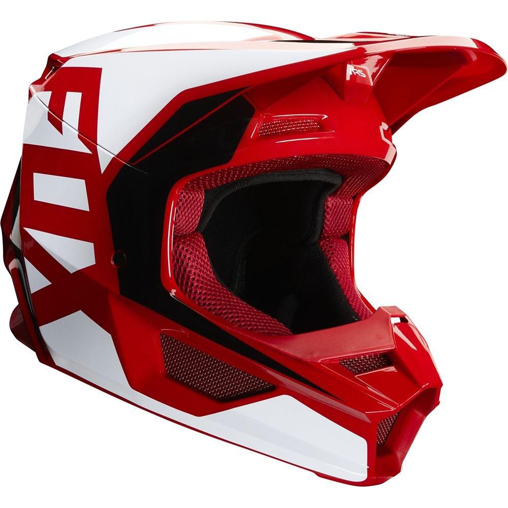 Přilba FOX V1 Prix Helmet MX20 Flame Red - červená (velikost XS)