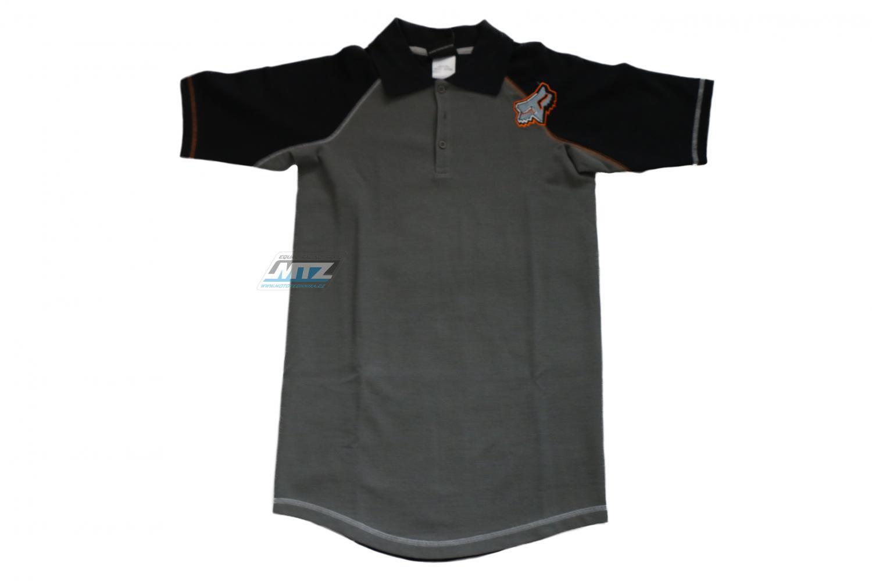 Tričko s límcem FOX Dětské Metal Head Polo