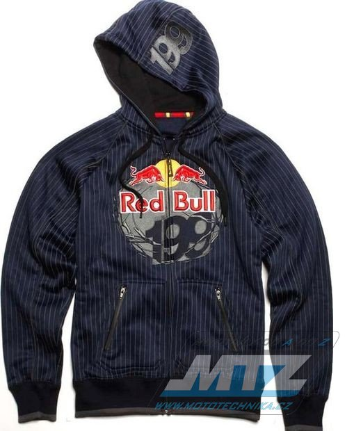 37795ef55c8 Mikina pánská FOX Zip Hoody Red Bull Travis Pastrana 199