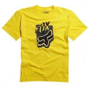 Tričko FOX Junior/dětské T-Shirt Dedicate žluté