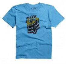 Tri�ko FOX Junior/d�tsk� T-Shirt Dedicate modr�