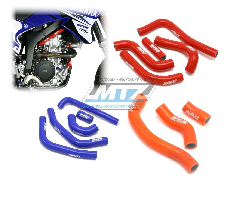 Hadice chladiče Suzuki RMZ450 / 08-14 + RMX450Z / 10-15 modré