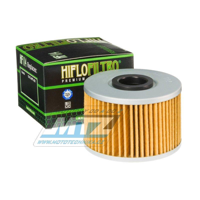 Filtr olejový HF114 (HifloFiltro)