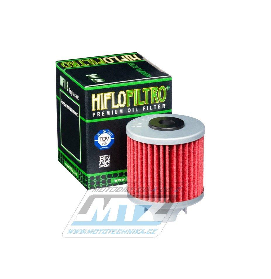 Filtr olejový HF118 (HifloFiltro)