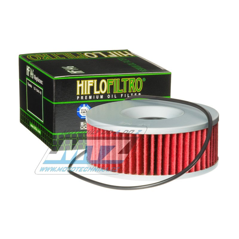 Filtr olejový HF146 (HifloFiltro)