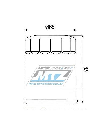Filtr olejový HF148   (MTZ)