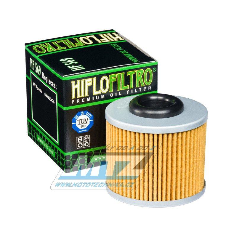 Filtr olejový HF569 (HifloFiltro)