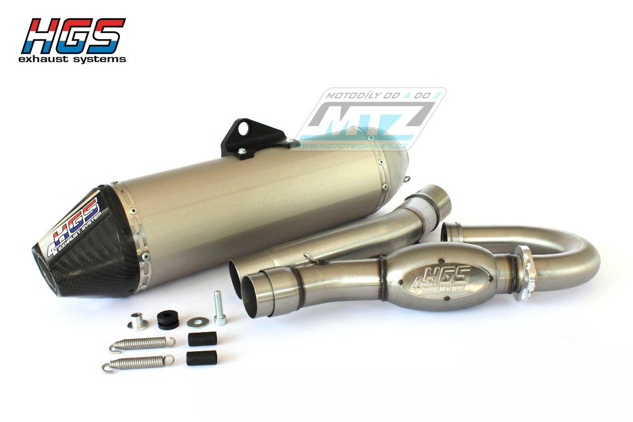 Výfuk kompletní (výfukový systém) HGS - Kawasaki KXF450 / 16-17