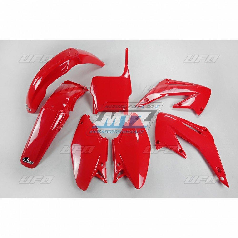 Sada plastů Honda - CR125+250 / 05-07 - červená