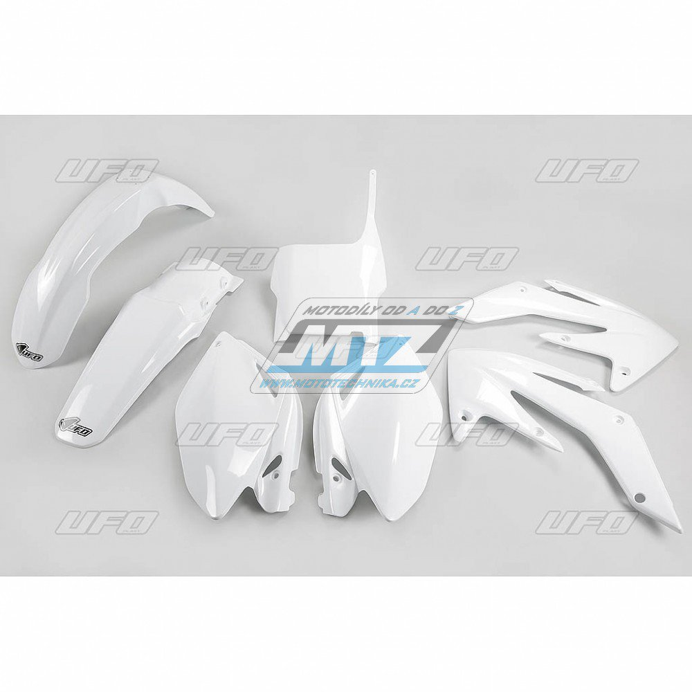 Sada plastů Honda - CRF250R/06-07 - bílá