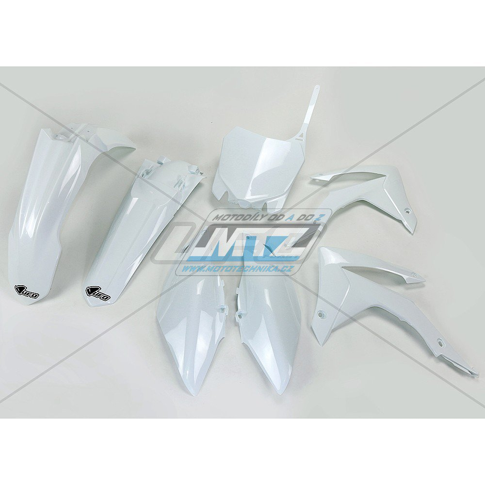 Sada plastů Honda - CRF450R / 13-16 + CRF250R / 14-17 - bílá