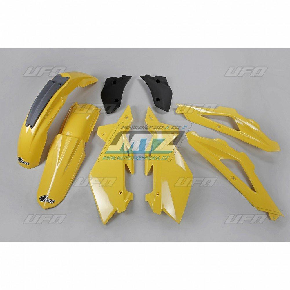 Sada plastů Husqvarna CR125+250 + WR125+250 / 07-08 - žlutá