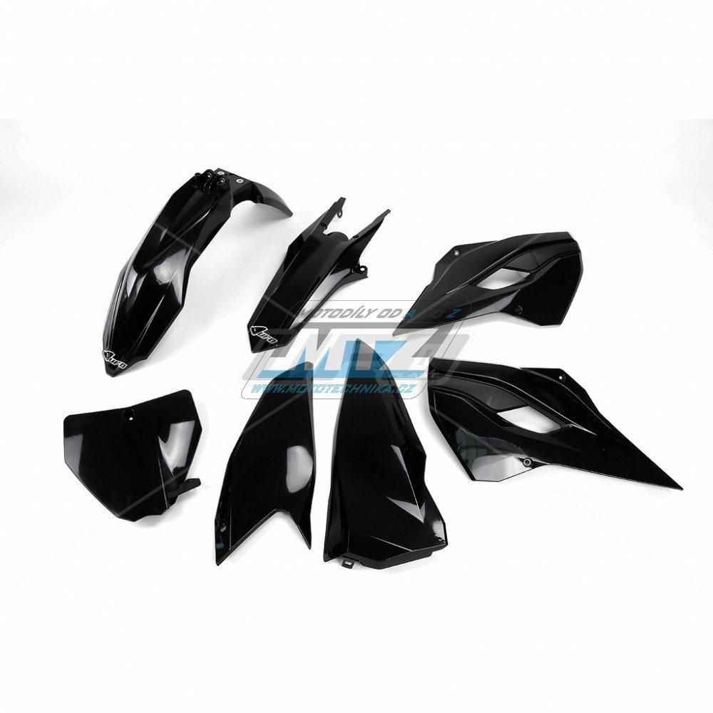 Sada plastů Husqvarna TC125+250 + FC250+350+450 / 14-15 - černá