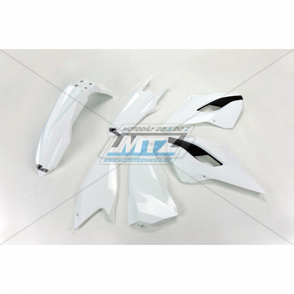 Sada plastů Husqvarna TE125+250+300 + FE250+350+450+501 / 14 - bílá
