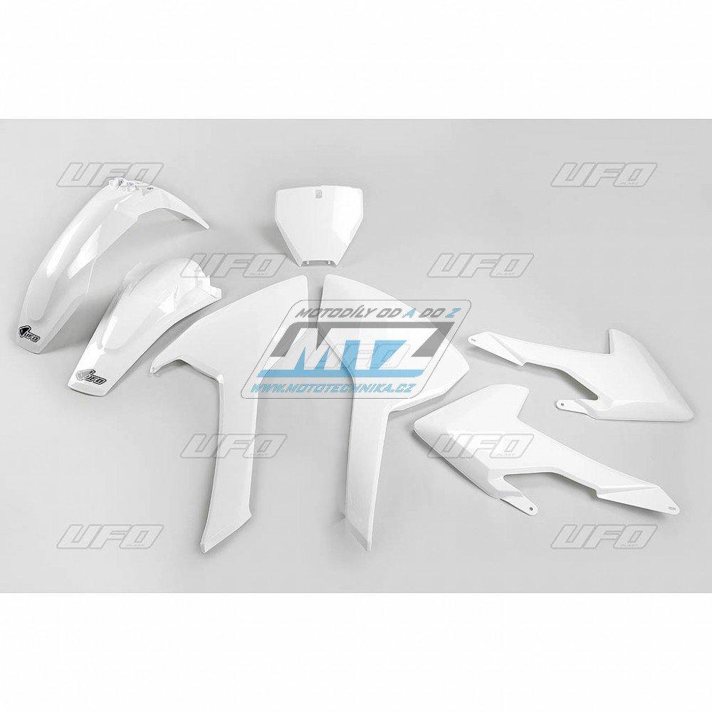 Sada plastů Husqvarna TC+FC125 + FC250 + TC+FC350+450 / 16-17 - bílá