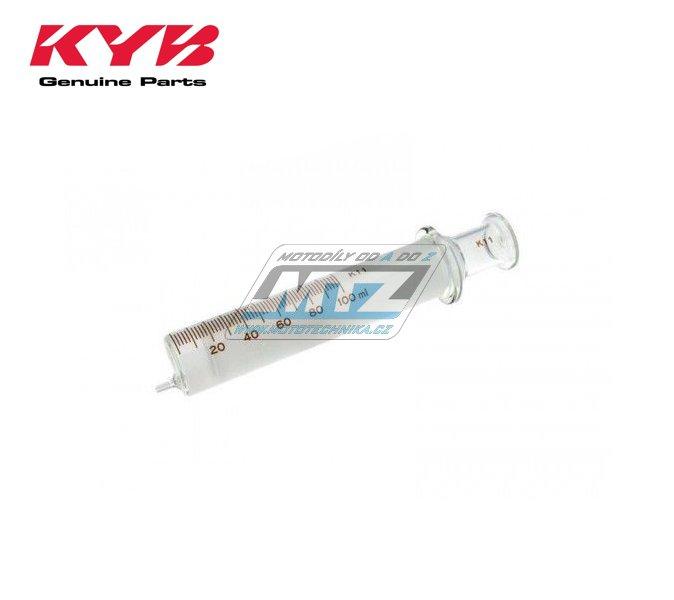 Striekačka sklenná tlaková 100 ml kayaba