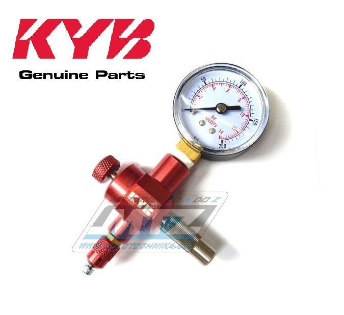 Prípravok na plnenie s manometrom KYB (originál Kayaba)