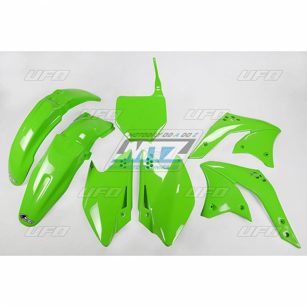 Sada plastů Kawasaki - KXF250 / 08 - zelená
