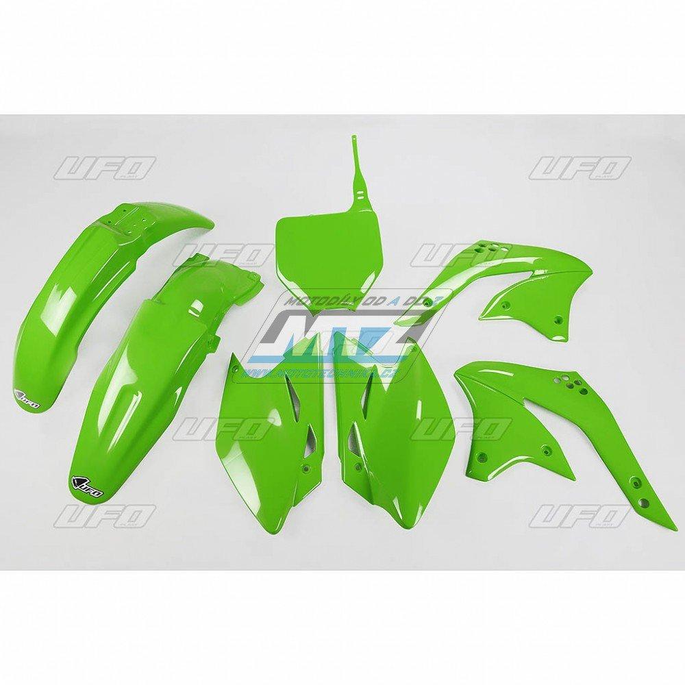 Sada plastů Kawasaki - KXF450 / 08 - zelená
