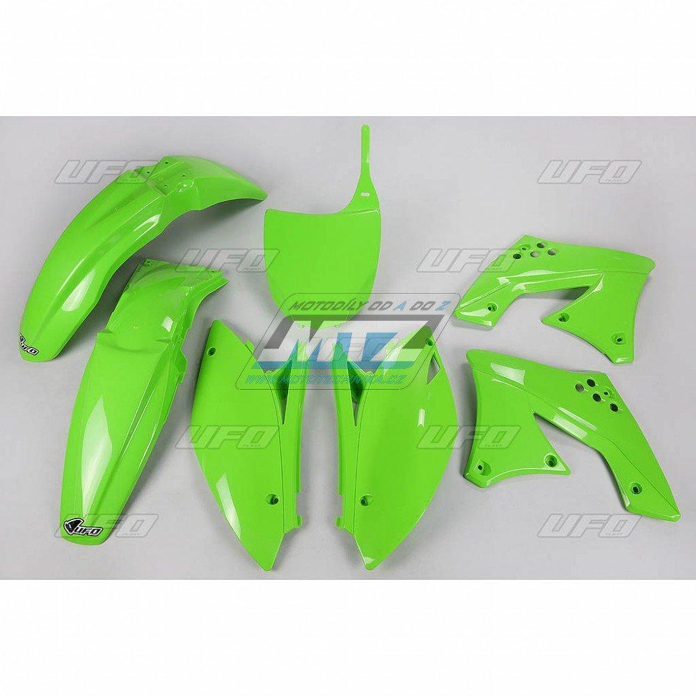Sada plastů Kawasaki - KXF250 / 09+12 - zelená