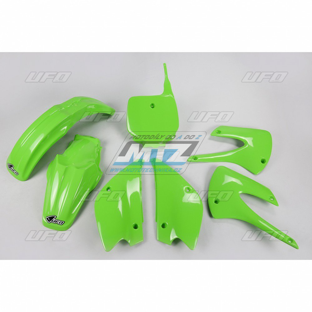 Sada plastů Kawasaki - KX85 / 10 - zelená