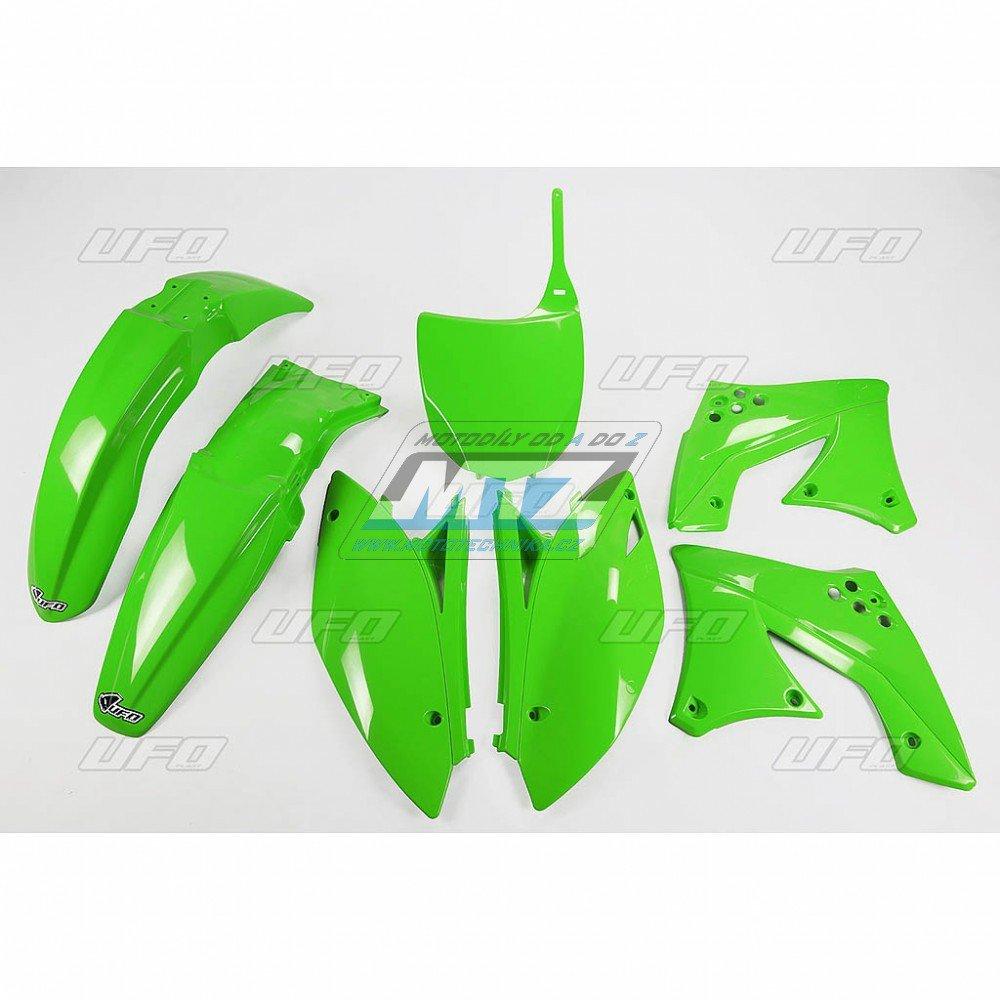 Sada plastů Kawasaki - KXF250 / 10-11 - zelená