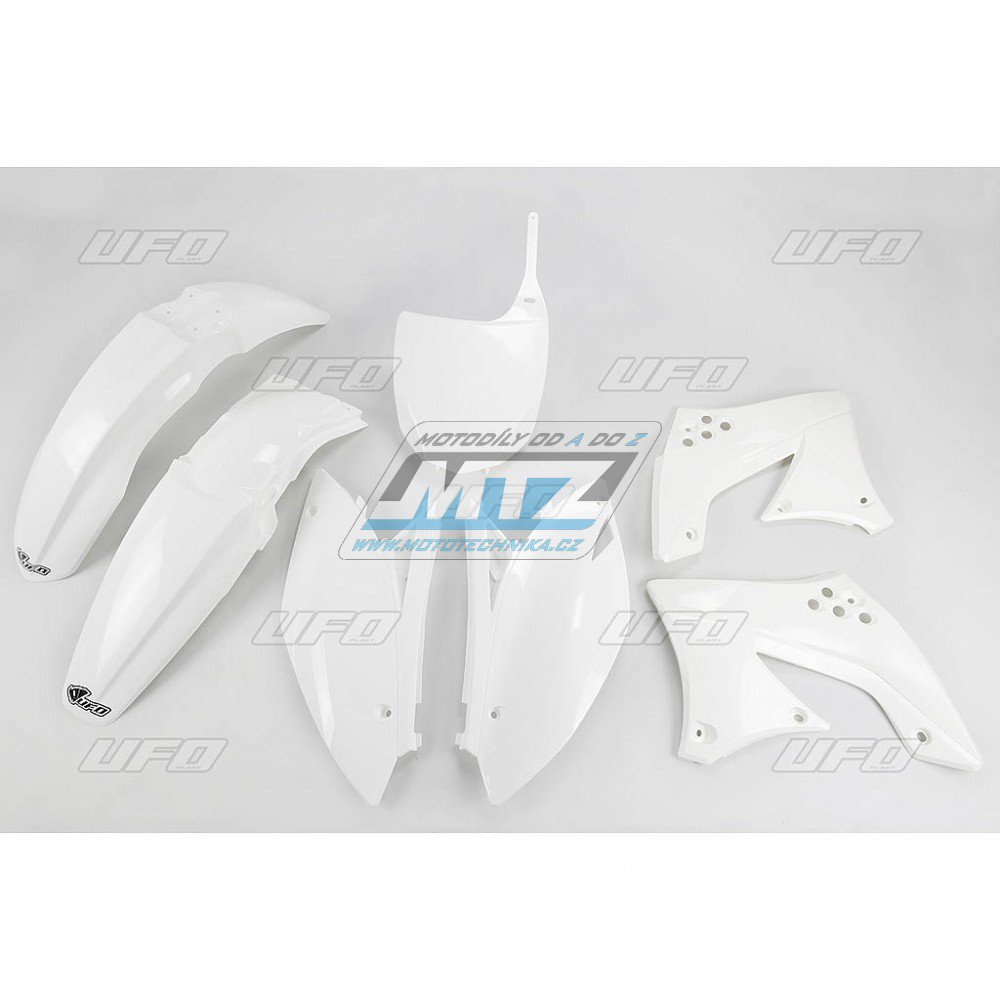 Sada plastů Kawasaki - KXF450 / 10-11 - bílá