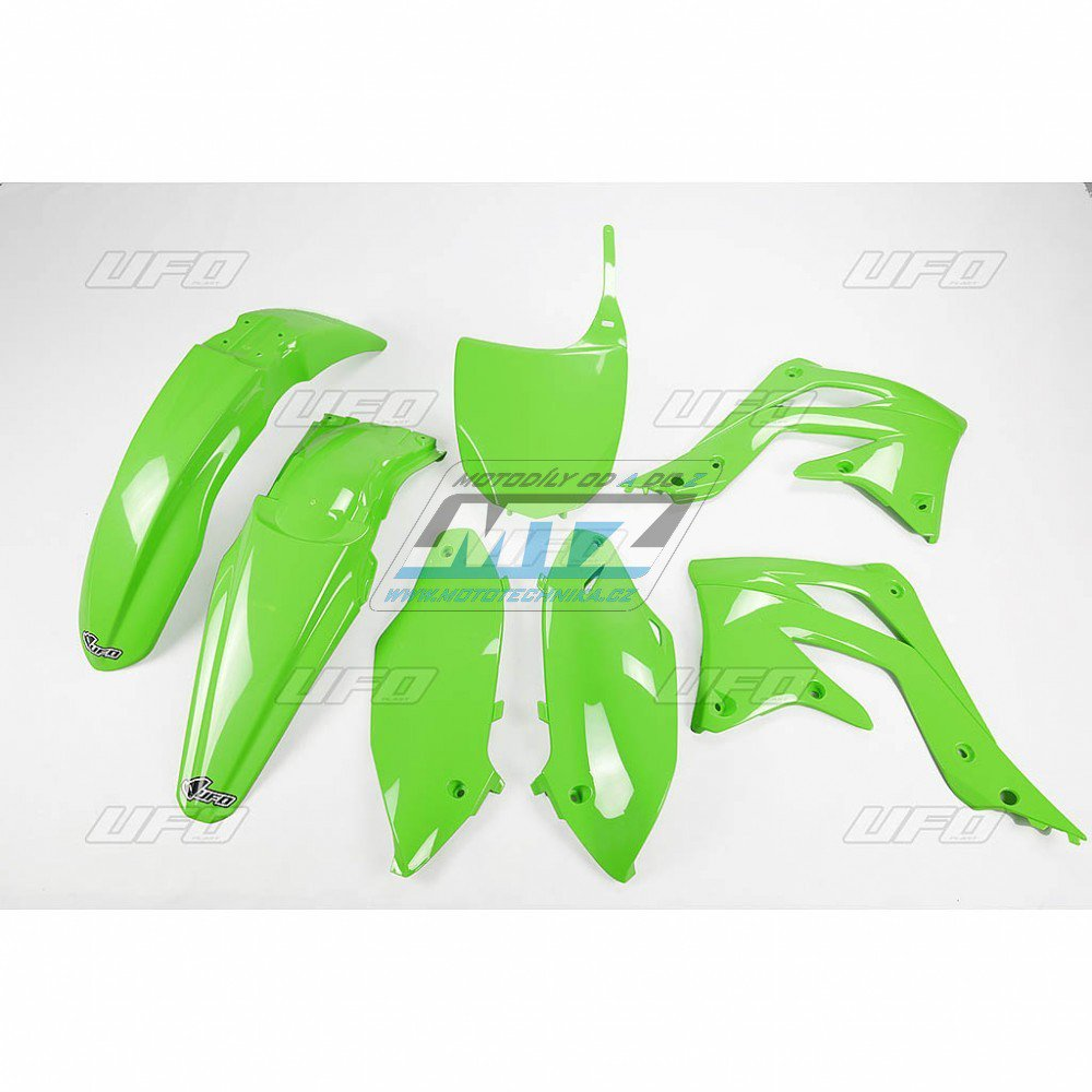 Sada plastů Kawasaki - KXF450 / 12 - zelená