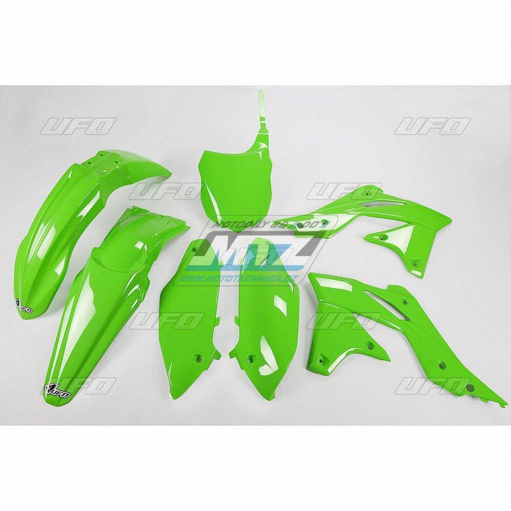 Sada plastů Kawasaki - KXF250 / 13 - zelená