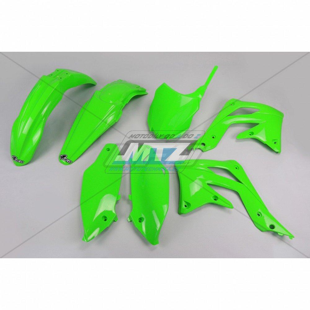 Sada plastů Kawasaki - KXF450 / 13-15 - zelená
