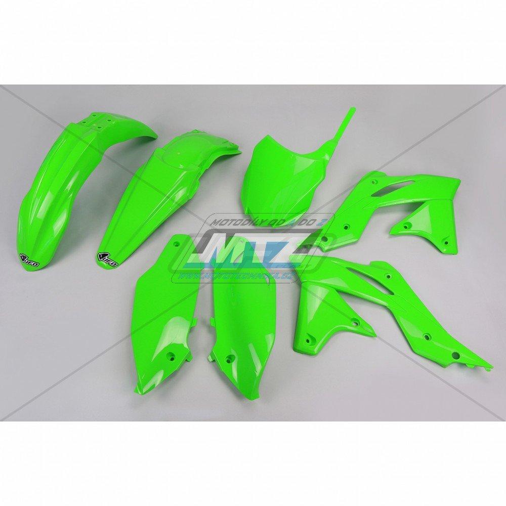 Sada plastů Kawasaki - KXF250 / 14-16 - zelená