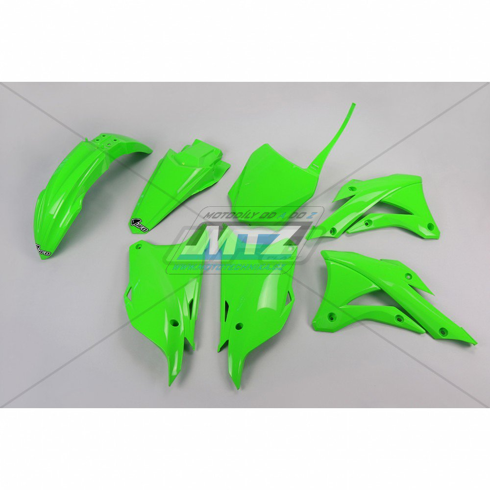 Sada plastů Kawasaki - KX85 / 14-17 - zelená