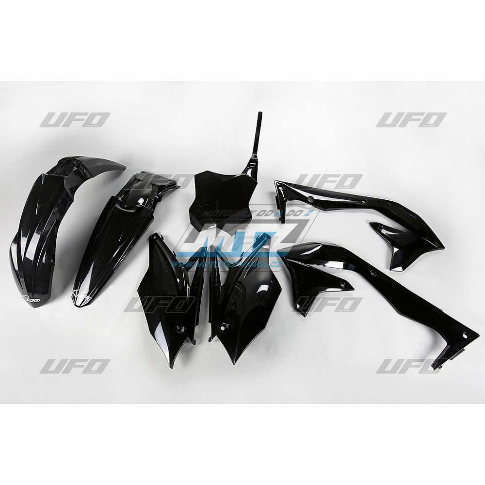 Sada plastů Kawasaki - KXF450 / 16-17 - černá