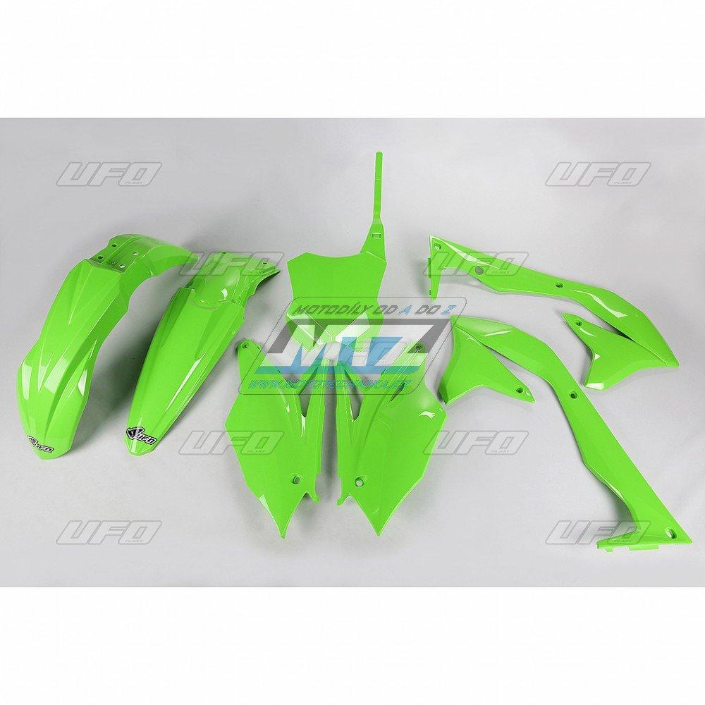 Sada plastů Kawasaki - KXF450 / 16-17 - zelená