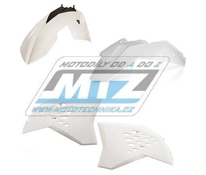 Sada plastů KTM - 125+250+300+450+530EXC+EXCR / 09-10 - bílá