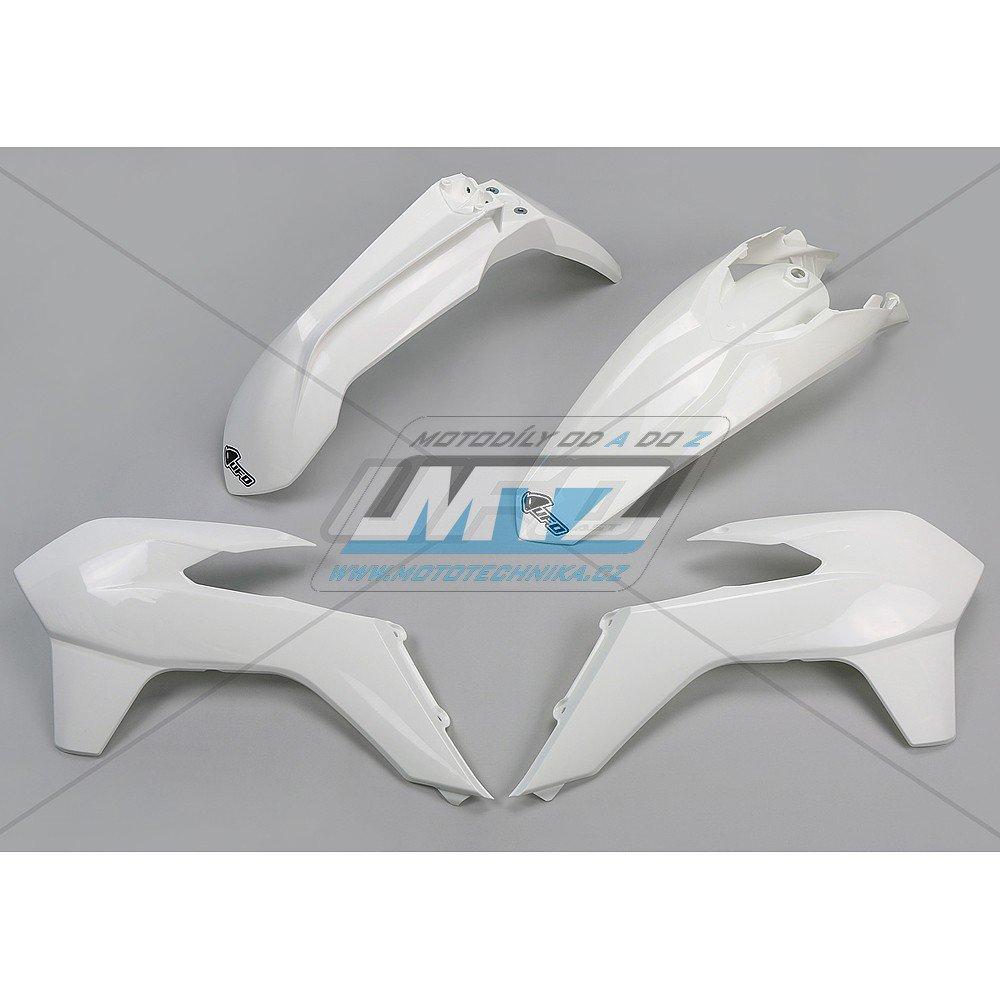 Sada plastů KTM - 125+250+300+350+450+500EXC+EXCF / 14-16 - bílá
