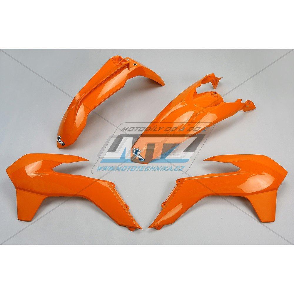 Sada plastů KTM - 125+250+300+350+450+500EXC+EXCF / 14-16 - oranžová