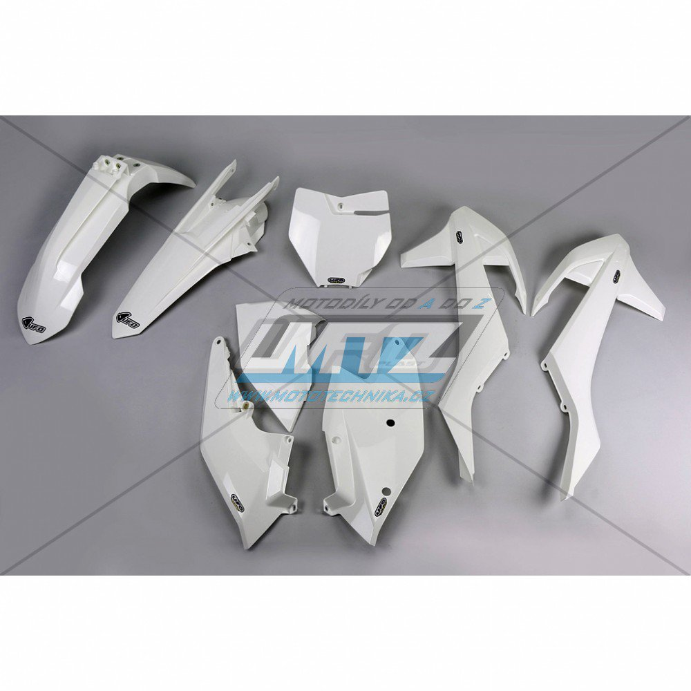 Sada plastů KTM - 125SX / 16-17 + 250+350+450SXF / 16-17 - bílá