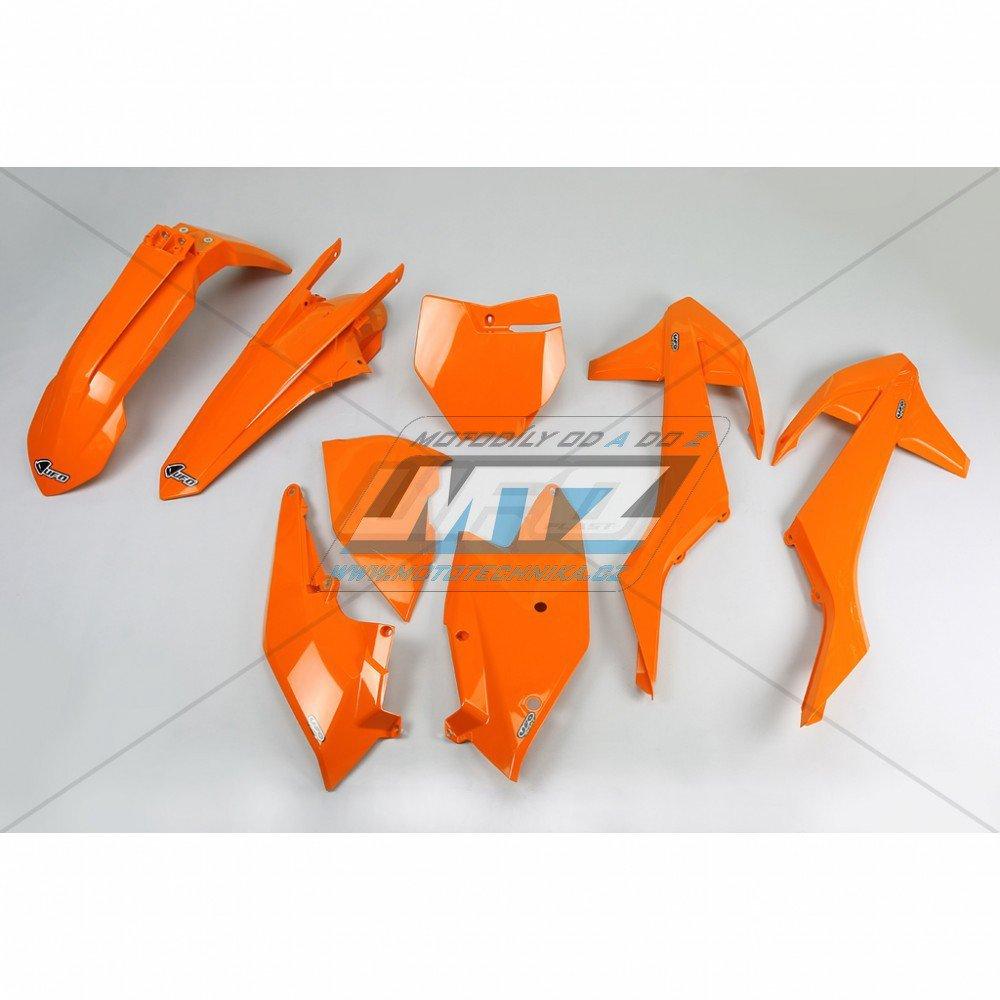Sada plastů KTM - 125SX / 16-17 + 250+350+450SXF / 16-17 - oranžová