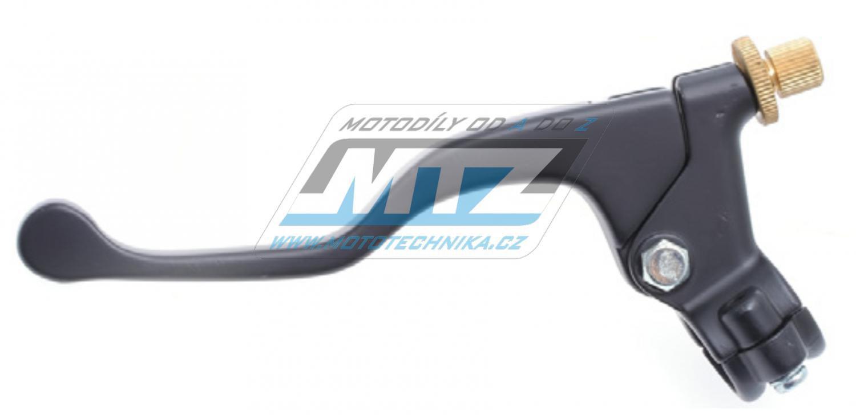 Páčka spojky s obímkou kompletná (s KRÁTKOU páčkou) - universálna pre lankovú spojku MTZ čierna farba