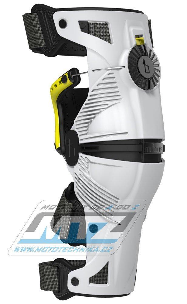 Chrániče kolen (kolenní ortézy) MOBIUS X8 Knee Brace (sada=pár) - bílé - velikost M