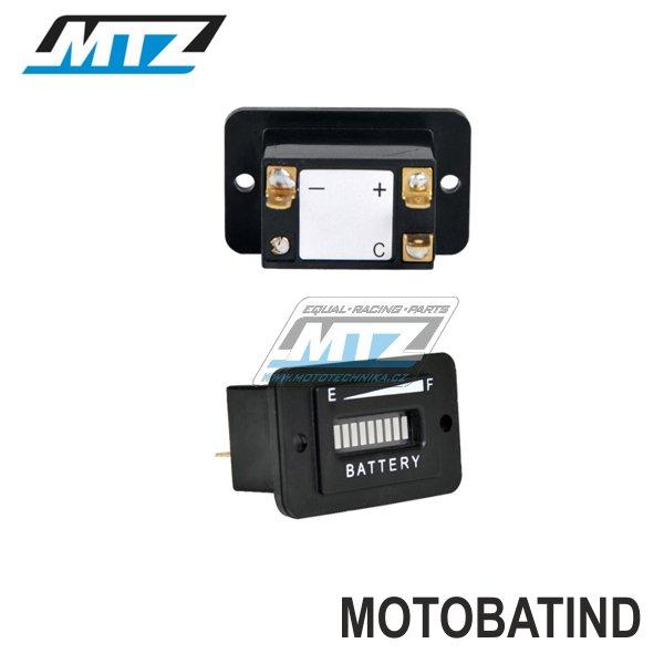 Indikátor stavu baterie MTZ - 12V / 24V