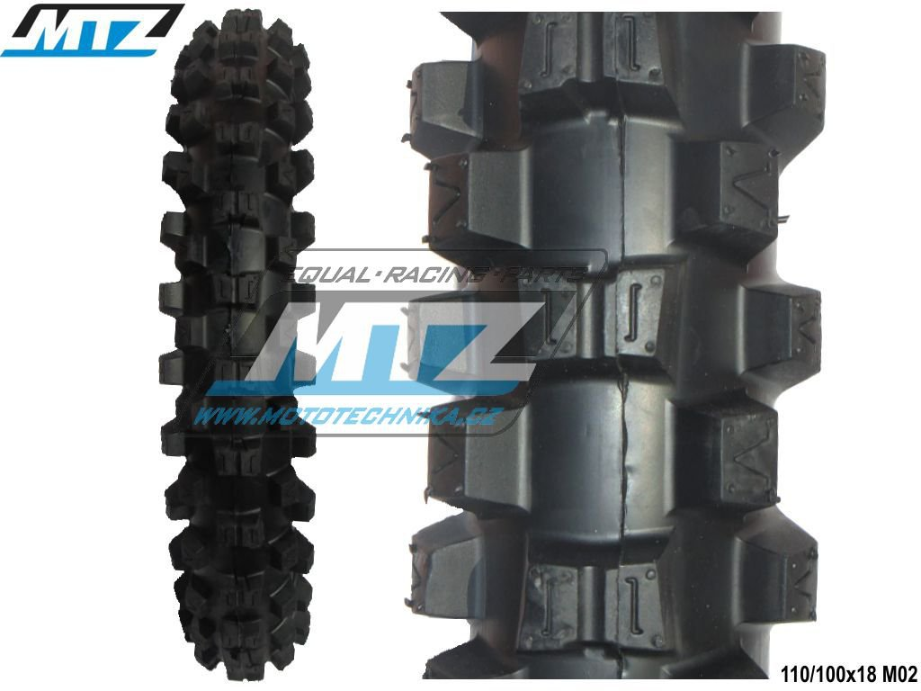 "Pneu MTZ 110/100-18"" M02"