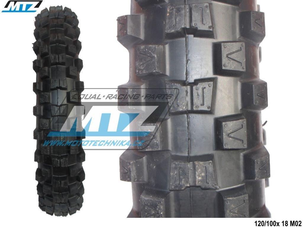 "Pneu MTZ 120/100-18"" M02"