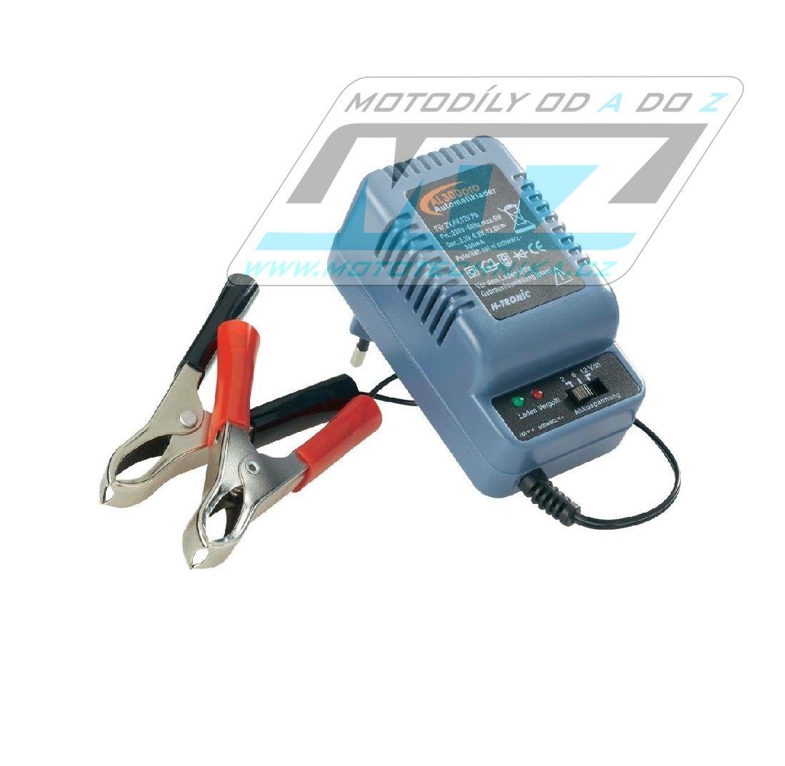 Nabíječka H-Tronic 2V / 6V / 12V - 0,9A se svorkami